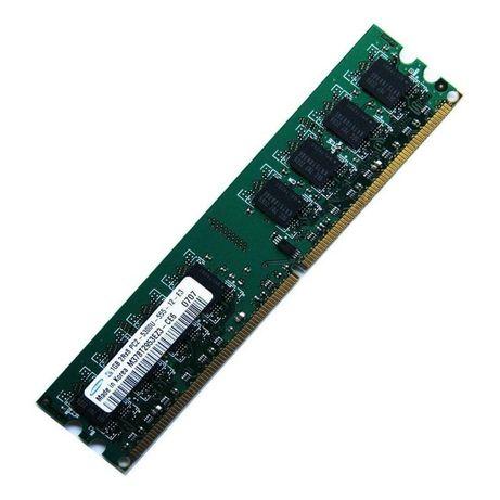 Memorii RAM 1GB DDR2 667Mhz PC2-5300U Desktop DIMM NOI!