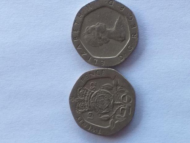vand 20 pence 1982 1983
