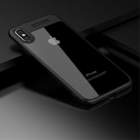 HUSE antisoc protectie+Folie sticla APPLE iPhone X XS modele diferite