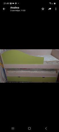 Детская кровать 2х уровневая
