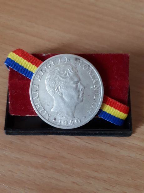 Moneda argint MIHAI I