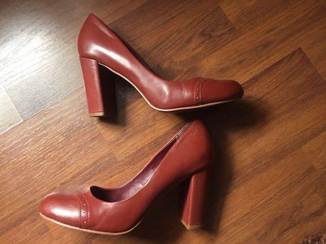 Pantofi dama, piele naturala