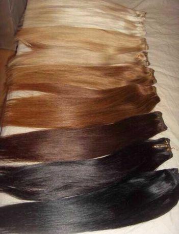 ПРОМО! 200гр. - 70лв. Екстеншъни -коса от смесен тип избор на цветове