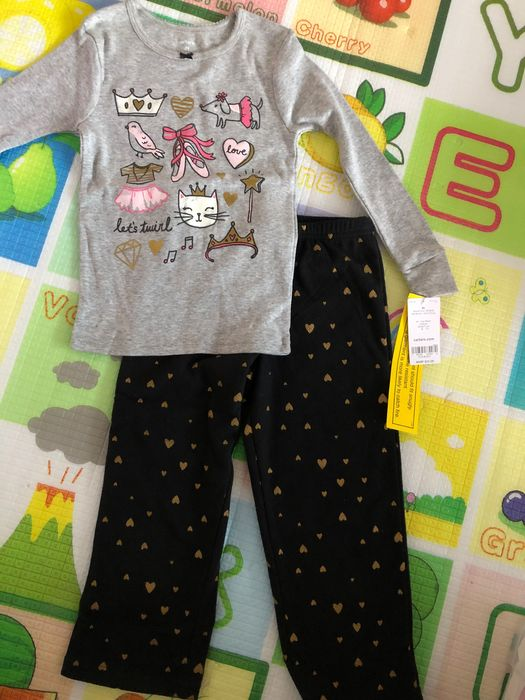 Vand pijamale bebe 3 ani NOI, eticheta, marca CARTERS cocolino/fleece Cluj-Napoca - imagine 1