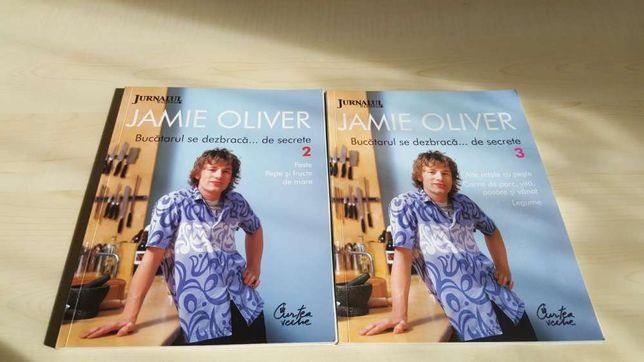 Colectie 2 cărți Jamie Oliver apărute la Jurnalul Național