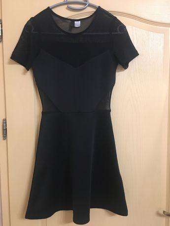 Дамска черна рокля