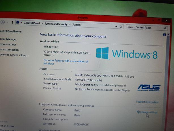 Laptop Asus de 15 inch