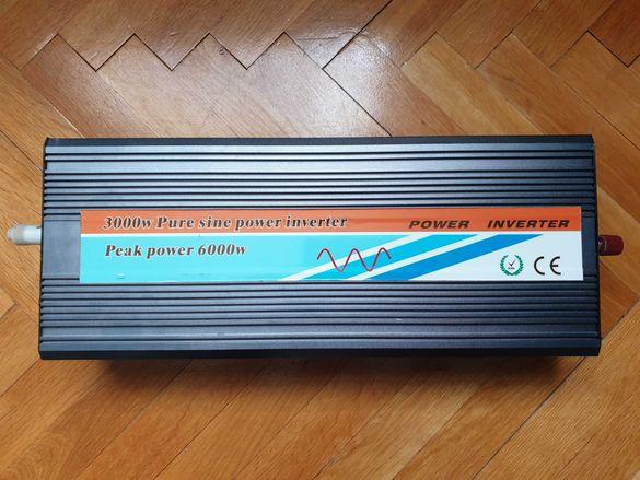 Продавам дефектен инвертор на пълнасинусоида до 3000W (3kW)