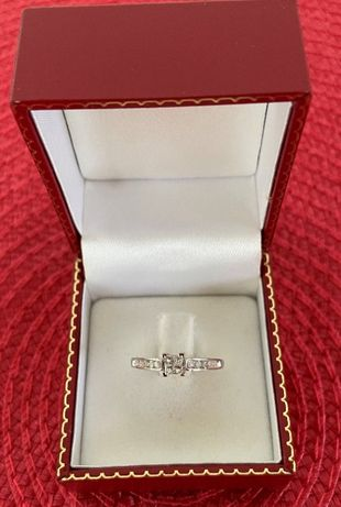 Inel aur 14k cu diamante 0.60CT