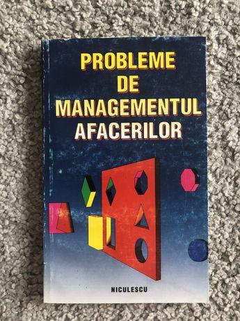 Probleme de managementul afacerior