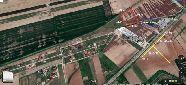 teren Nojorid la DN79 spre Arad
