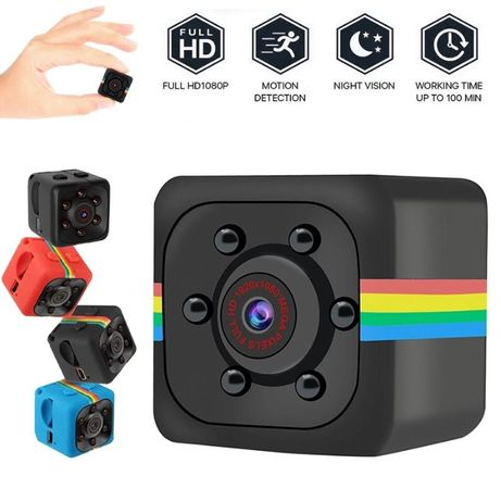 SQ11-FULL HD Шпионска цветна мини камера