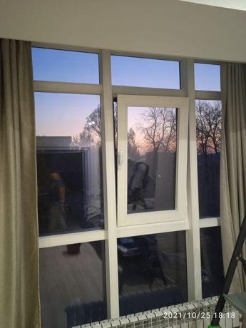Утепление алюминиевых окон и витражей