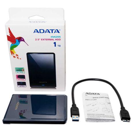 Внешний жесткий диск ADATA HV620S, 1 TB,Темно-синий
