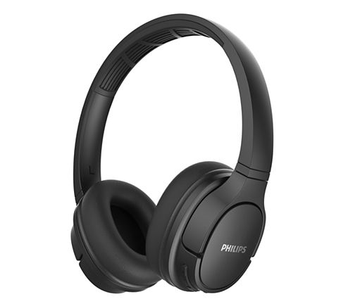Безжични слушалки за уши Philips черни
