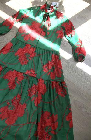 Платье в пол производство Турция