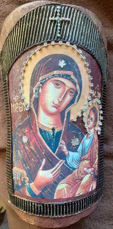 Украса за стена икона Богородица