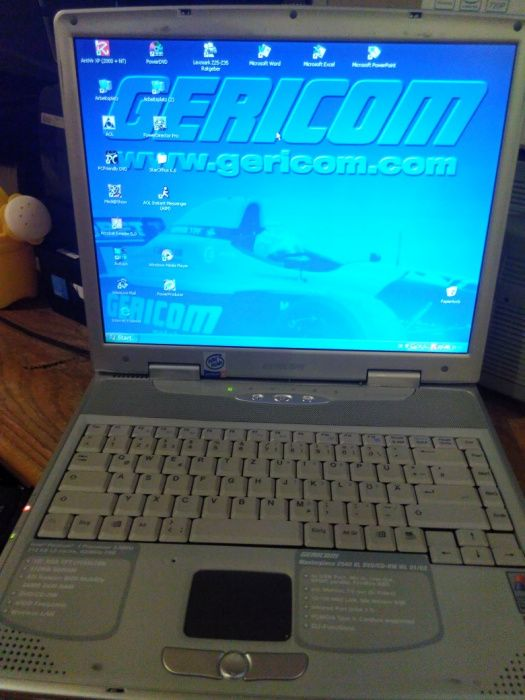 Laptop gericom win cp