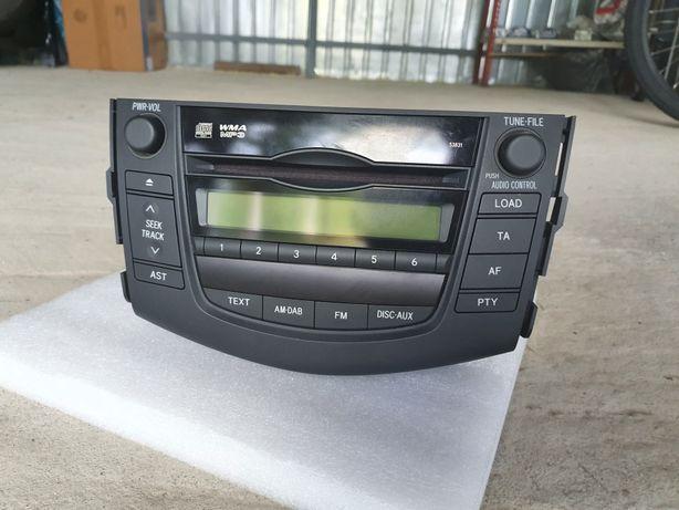 CD Player Toyota  cu magazie de 6 CD