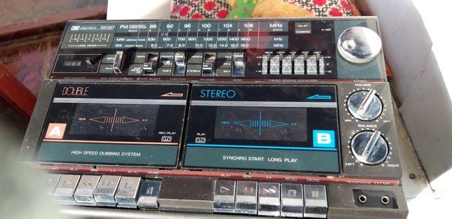 Radio cu dublu casetofon