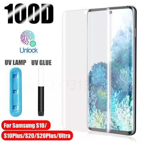 3D NANO Стъклен протектор за Samsung Galaxy S20 / S20+ S10 Note 10 9 8