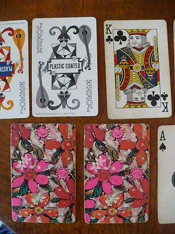 Carti de joc made in U.S.A. plastic coated