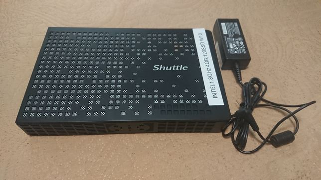 Mini pc Shuttle Intel Atom D525 ram 4 gb ssd 120