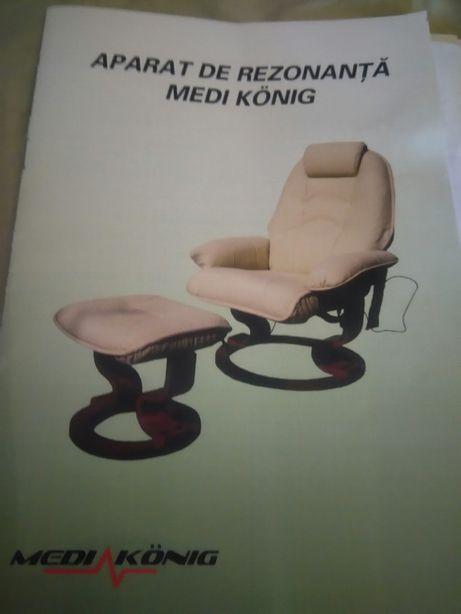 Aparat rezonanță Medi Konig, masaj terapeutic