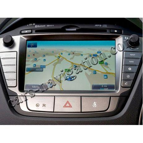 Ъпдейти за навигация 2020 Хюндай Hyundai Santa Fe Veloster i20 i30 i35