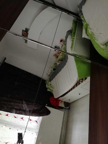 Comoda cu 4 sertare și dulap cu 2 uși glisante