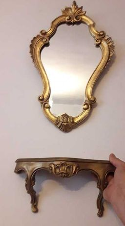 set oglinda cu consola