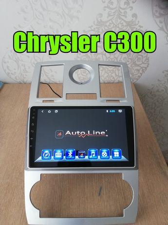 ШГУ Андроид Chrysler c300 Hummer H1 H2 Крайслер С300 Автолайн Мафон