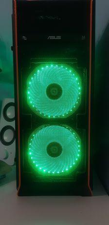 Cooler cu lumina verde