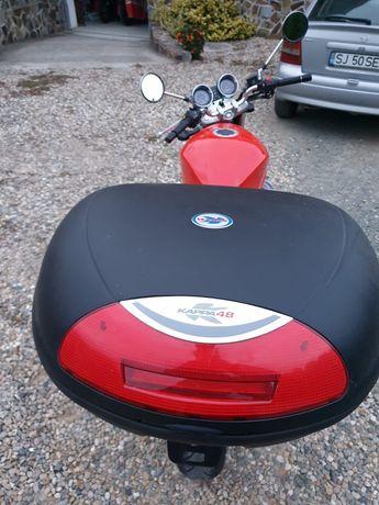 Topcase + suport Suzuki Bandit