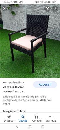 Vând perine cu huse pentru scaune terasa horeca