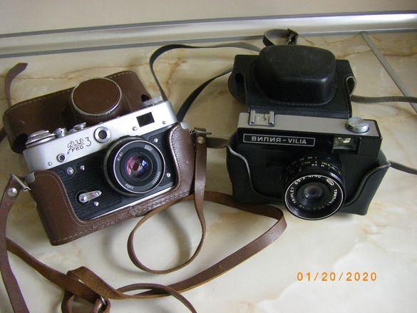 Продавам фотоапарати ФЕТ 3 и Вилия