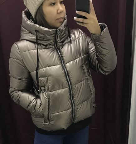 Куртка бронзывая