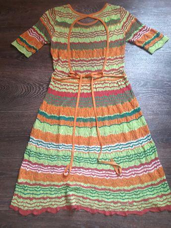 Разгружаю гардероб!Платье вязанное с открытой спинкой