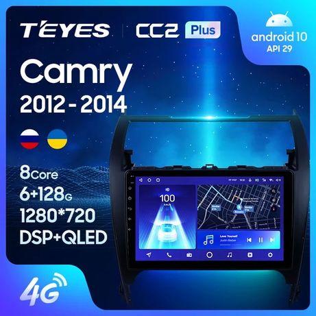 Штатная магнитола TEYES CC3 / sPro+ для Toyota Camry 50 Американец