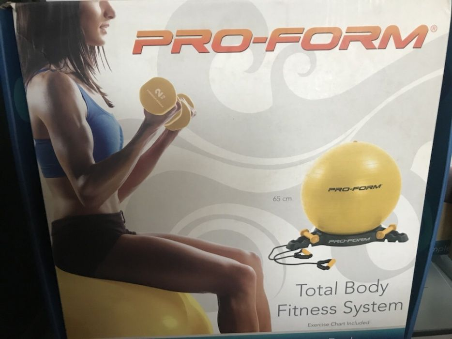 Minge pilates si gantere Proform