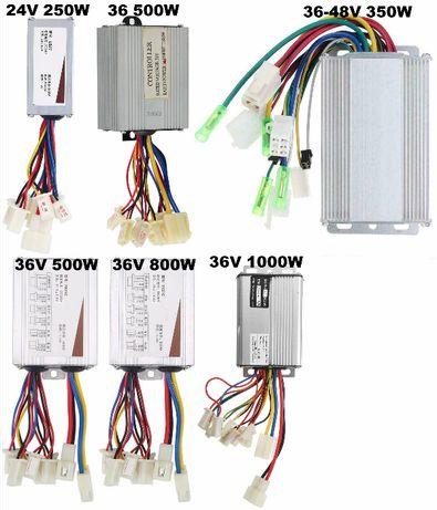 Controler bicicleta electrica /scuter 36V/48V 350W, 24V/36V 500W Noi