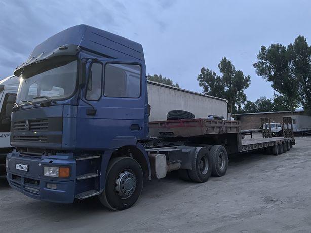 Услуги трала, перевозка негабаритных грузов.