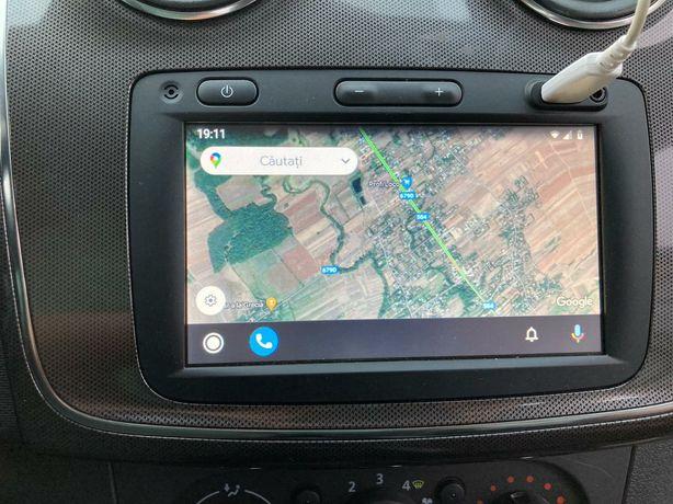 Navigație cu android originala dacia și renault