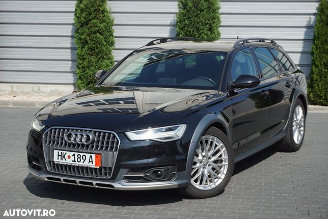 Audi A6 Allroad Facelift Full LED*Navi*Piele maro*Memorii*Camera