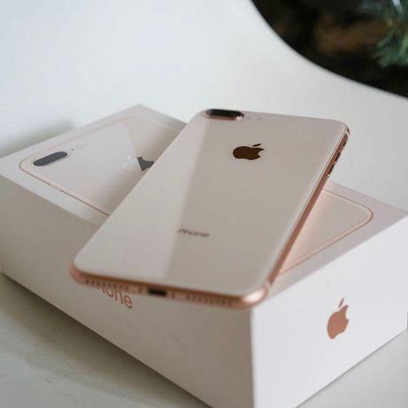 iPhone 8 Plus rose 64GB перфектен