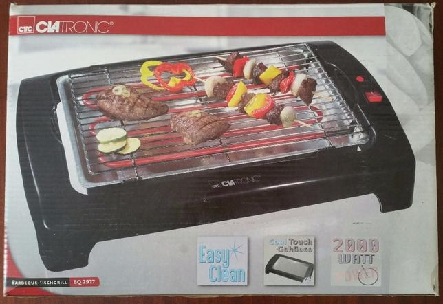 CLATRONIC Barbeque Electric 2000W