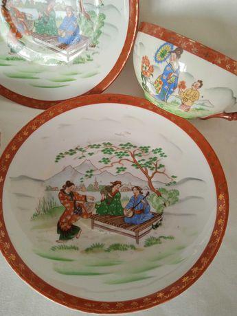 Японски порцелан сет за чай