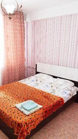 2-х комн. квартира посуточно в центре г. Сатпаев. чисто, уютно, док.