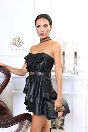 Кожена рокля AVIN