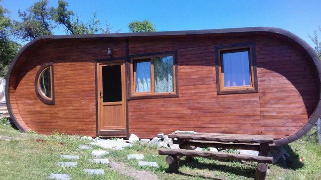 Lucrari în lemn cabane